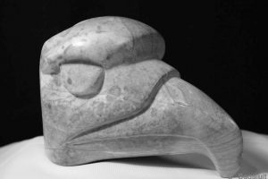 eagle-head-carving