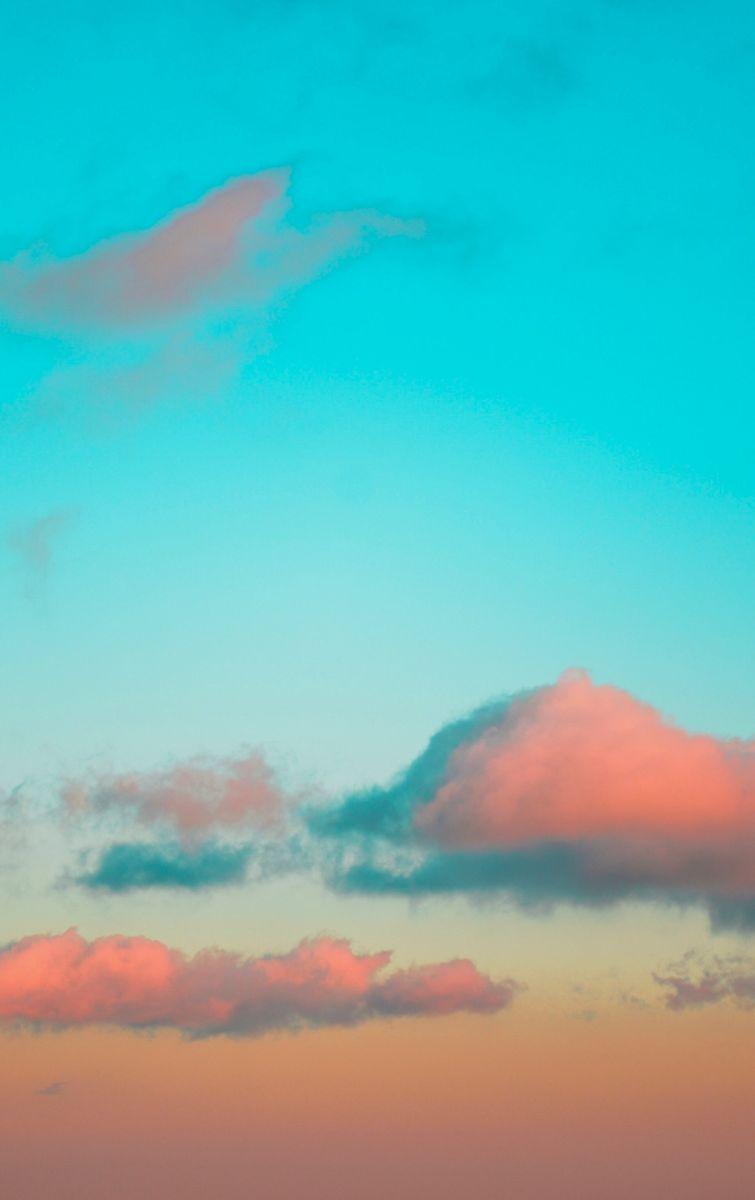 sky-turquoise-orange